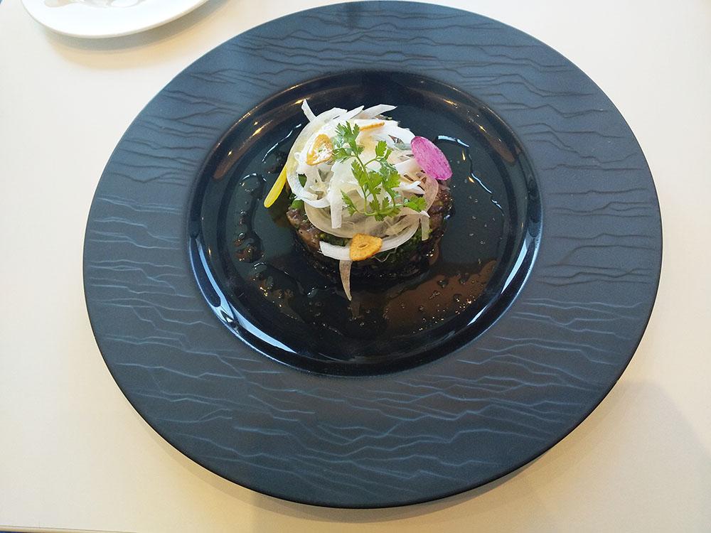 龍馬カツオと菜の花のタルタル