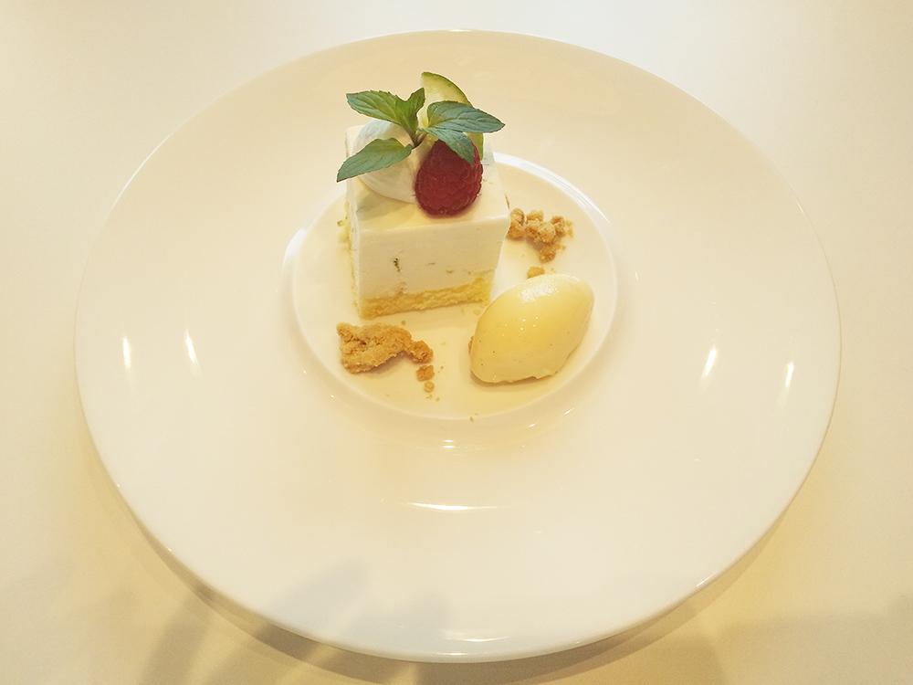 ライム風味のレア―チーズ